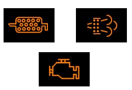 DPF lights on dashboard